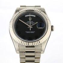 Rolex (ロレックス) 218239 ホワイトゴールド 2012 デイデイト II 41mm 中古