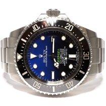 Rolex Sea-Dweller Deepsea pre-owned 44mm Blue Date Steel