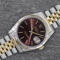 Rolex Datejust 16233 Nagyon jó Arany/Acél 36mm Automata