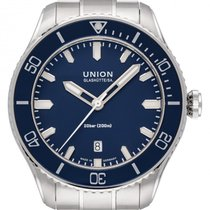 Union Glashütte new Automatic Central seconds Luminous hands Luminous indices 45mm Steel Sapphire crystal