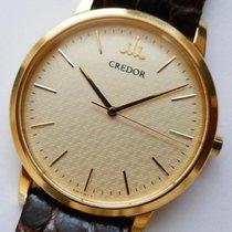 Seiko Ouro amarelo Quartzo 35mm usado Credor