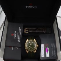 Tudor Yellow gold Automatic Green 39mm new Black Bay Fifty-Eight