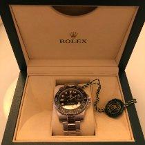Rolex usado Automático 40mm Preto Vidro de safira 10 ATM