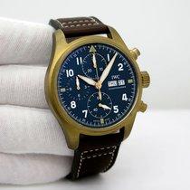 IWC Pilot Spitfire Chronograph Bronze 41mm Green Arabic numerals United States of America, Florida, Orlando
