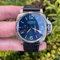 Panerai Luminor Due Titanium 42mm Blue Arabic numerals United States of America, California, Los Angeles