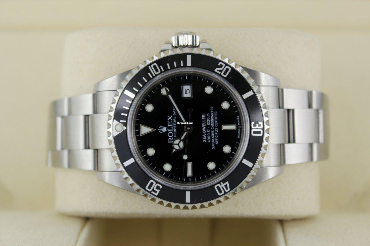 Rolex Sea-Dweller 4000 16600 2013 usados