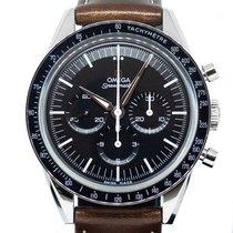 Omega Speedmaster Professional Moonwatch Steel 39.7mm Black No numerals Singapore