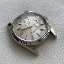 Rolex Day-Date 36 White gold 36mm Grey
