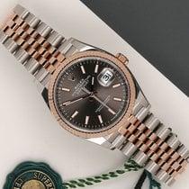 Rolex Datejust Aur/Otel 36mm Gri