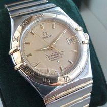 Omega 123.10.35.60.02.001 Steel 1998 Constellation Quartz 35mm pre-owned