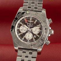 Breitling Chronomat GMT Steel 47mm Brown