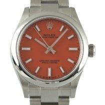Rolex Oyster Perpetual 31 Сталь 31mm Красный