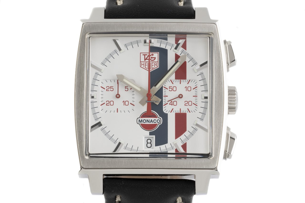 TAG Heuer Monaco CW2118 2006 pre-owned