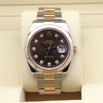 Rolex Datejust II Gold/Steel 41mm Brown Australia