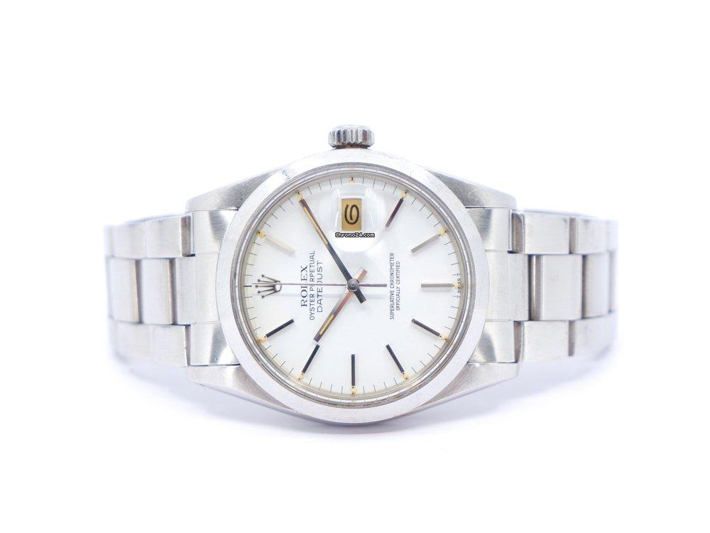 Rolex Datejust 16000 1986 brugt