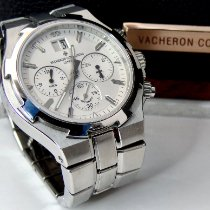 Vacheron Constantin Overseas Chronograph Steel 40mm Silver No numerals United States of America, New York, Williston Park