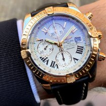 Breitling Chronomat Evolution Zlato/Ocel 44mm Bílá Římské