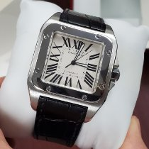 Cartier Santos 100 Steel 38mm White Roman numerals United States of America, California, Los Angeles