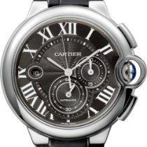 Cartier Ballon Bleu 44mm Сталь 44mm Черный