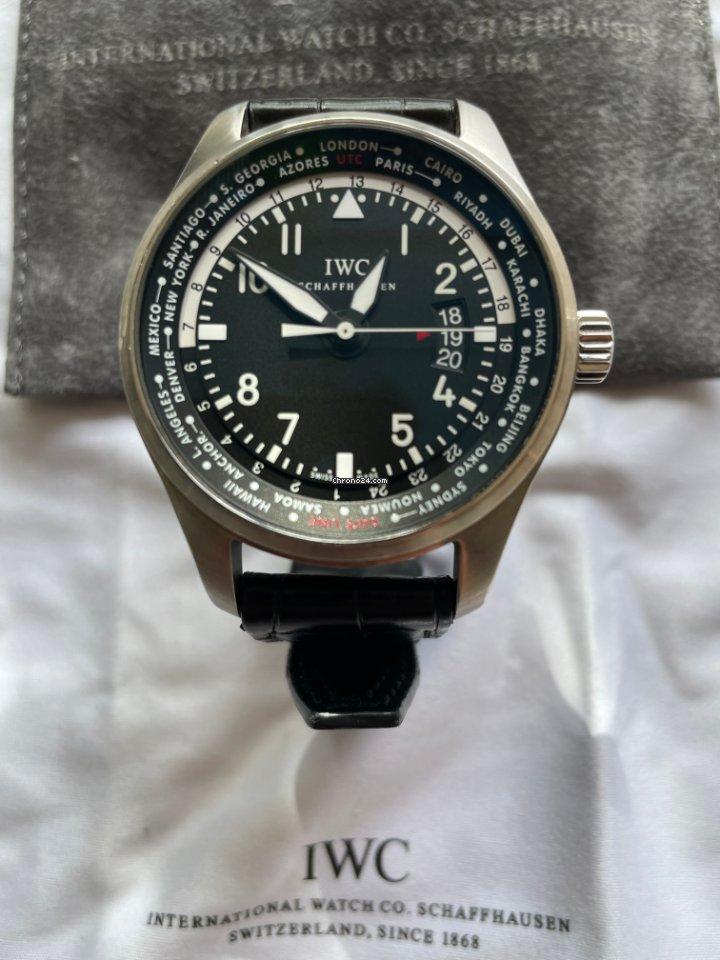 IWC Pilot Worldtimer IWIW326201 2013 usados
