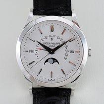 Patek Philippe Perpetual Calendar Platin 39.5mm Silber Deutschland, Koeln