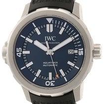 IWC Aquatimer Automatic Сталь 42mm Синий