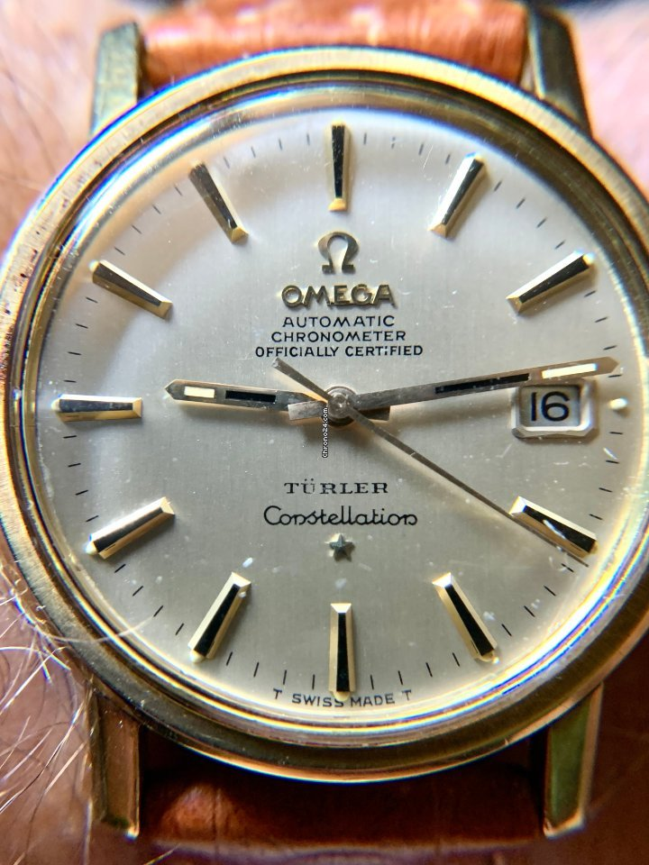 Omega Constellation 168-010 1968 pre-owned