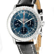 Breitling AB0121211C1P1 Staal Navitimer 1 B01 Chronograph 43 43mm nieuw