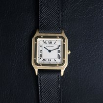 Cartier Santos Dumont Santosdumont Καλό Κίτρινο χρυσό 27mm Χειροκίνητη εκκαθάριση
