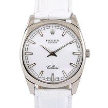Rolex Cellini Danaos White gold 38mm Silver No numerals UAE, Dubai