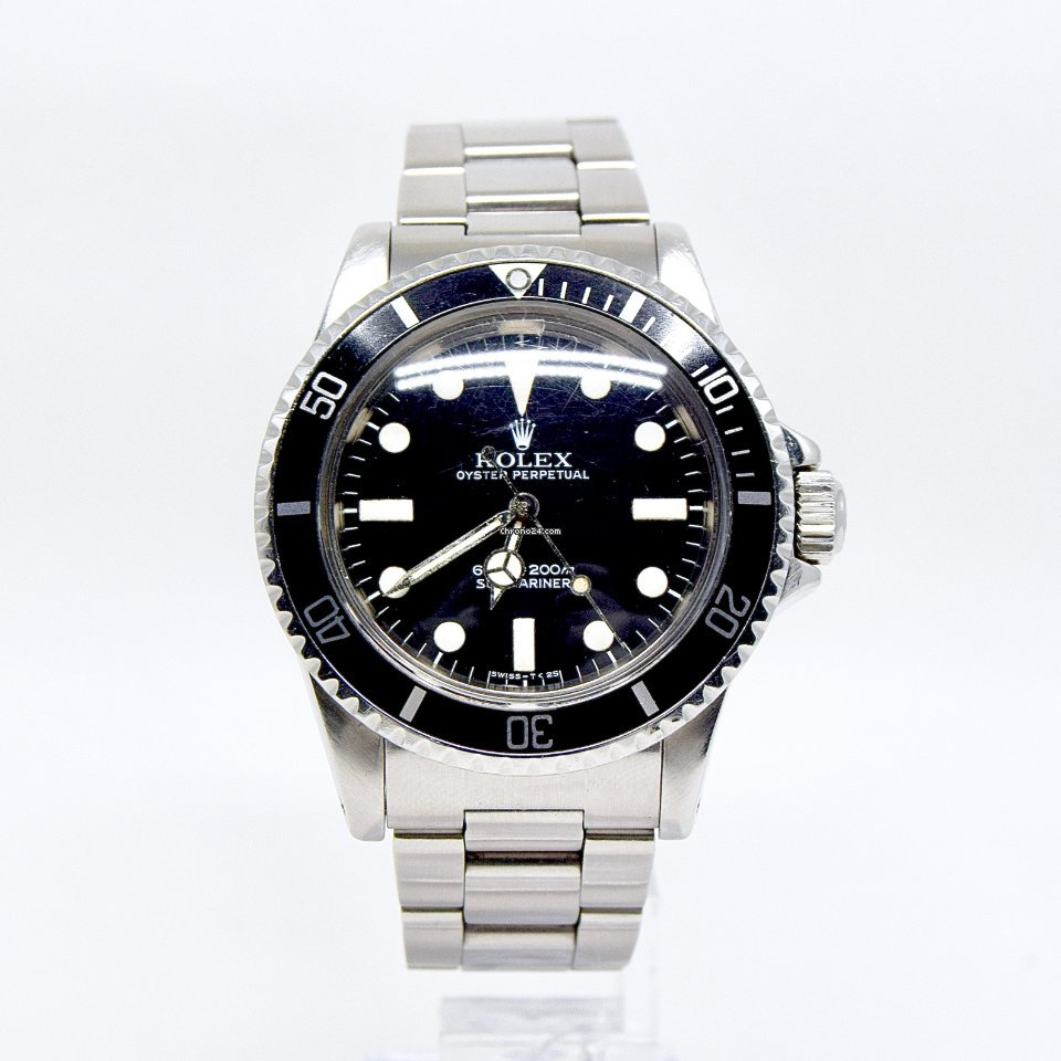 Rolex Submariner (No Date) 5513 1978 подержанные