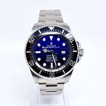 Rolex Sea-Dweller Deepsea Stål 44mm Blå Ingen tall