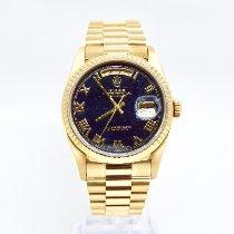 Rolex Day-Date 36 Yellow gold 36mm Black No numerals United Kingdom, Rickmansworth