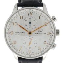 IWC Portuguese Chronograph Steel 41mm White Arabic numerals United Kingdom, London