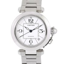 Cartier Steel Automatic White Arabic numerals 35mm pre-owned Pasha C