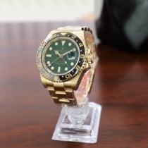 Rolex GMT-Master II Yellow gold 40mm Green No numerals UAE, Dubai