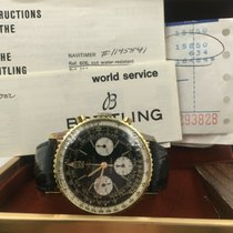 Breitling Yellow gold Manual winding 41mm pre-owned Navitimer