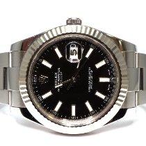 Rolex Datejust II Steel 41mm Black No numerals United Kingdom, Essex