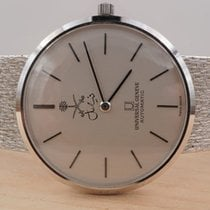 Universal Genève White gold Automatic Grey 32mm pre-owned