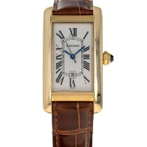 Cartier Tank Américaine Yellow gold 23mm White Roman numerals United States of America, Maryland, Baltimore, MD