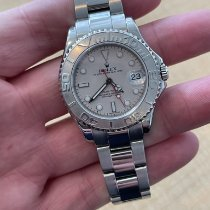 Rolex Yacht-Master Steel 35mm Silver No numerals United States of America, Florida, West Palm Beach