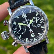 Chronoswiss Timemaster Steel 40mm Black Arabic numerals United States of America, Michigan, Birmingham