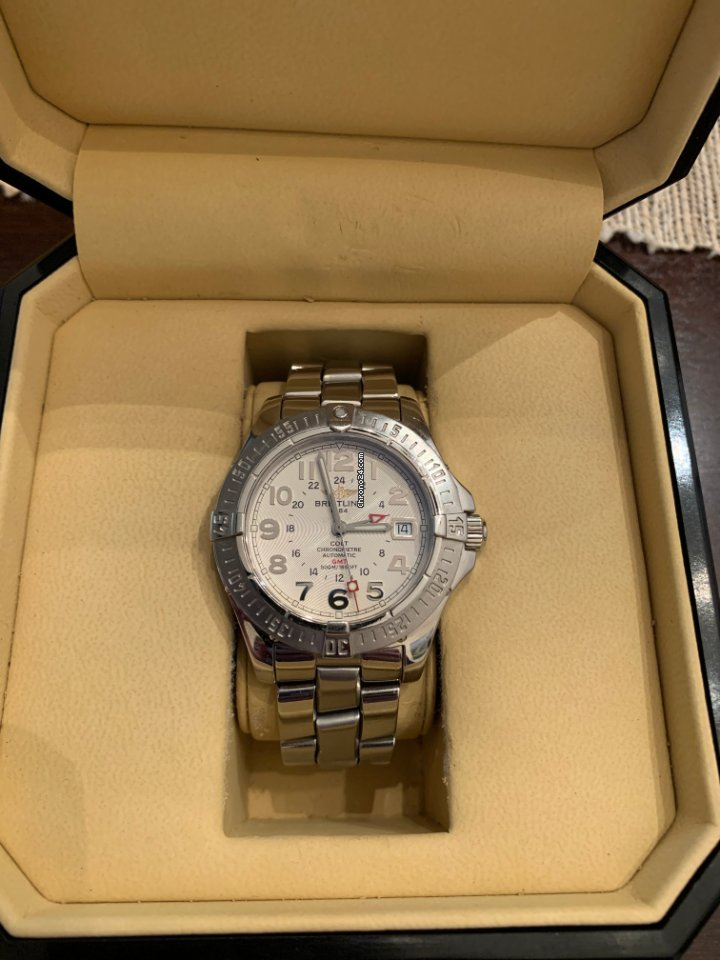 Breitling Colt GMT A32350 2004 pre-owned