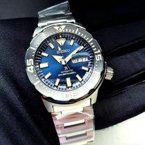 Seiko Prospex Steel 42 mmmm Blue No numerals