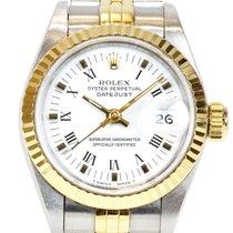 Rolex (ロレックス) レディース デイトジャスト ゴールド/スチール 26mm ホワイト ローマインデックス 日本, Hokkaidō