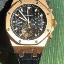 Audemars Piguet Royal Oak Tourbillon Rose gold 44mm Black No numerals United States of America, Florida, miami