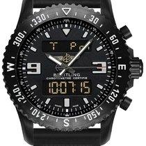 Breitling Chronospace Military new Quartz Chronograph Watch with original box M7836710-BG34-201S
