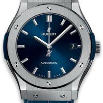 Hublot Classic Fusion Blue Титан 45mm Синий