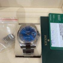 Rolex Datejust II Steel 41mm Blue Roman numerals UAE, alain