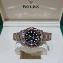 Rolex GMT-Master II Gold/Steel 40mm Black No numerals Singapore